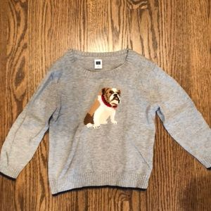 Boys Bulldog Sweater from Janie and Jack 2T